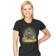 Gold Throne - Womens - T-Shirts - RIPT Apparel