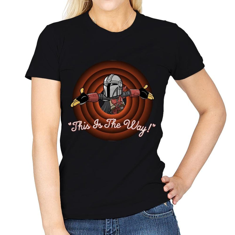This Is The Way - Womens - T-Shirts - RIPT Apparel