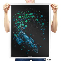 Leaf On The Wind Reprint - Prints - Posters - RIPT Apparel