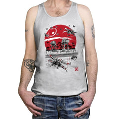 Battle on the Beach - Tanktop - Tanktop - RIPT Apparel