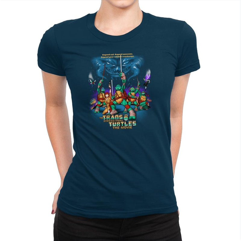 The Trans-Dimensional Turtles Exclusive - Womens Premium - T-Shirts - RIPT Apparel