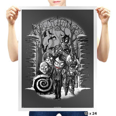 Gotham City Winter - Prints - Posters - RIPT Apparel