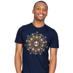 One Up Mandala - Mens - T-Shirts - RIPT Apparel