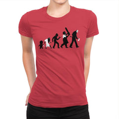 Theory Of Evil - Womens Premium - T-Shirts - RIPT Apparel