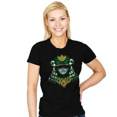 Green Shogun Ranger - Womens - T-Shirts - RIPT Apparel