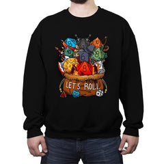 Let's Roll - Crew Neck Sweatshirt - Crew Neck Sweatshirt - RIPT Apparel