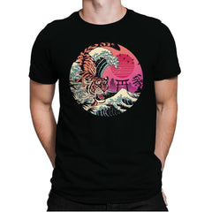 Rad Tiger Wave - Mens Premium - T-Shirts - RIPT Apparel