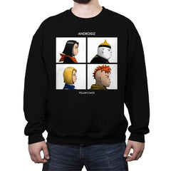 Androidz - Crew Neck Sweatshirt - Crew Neck Sweatshirt - RIPT Apparel