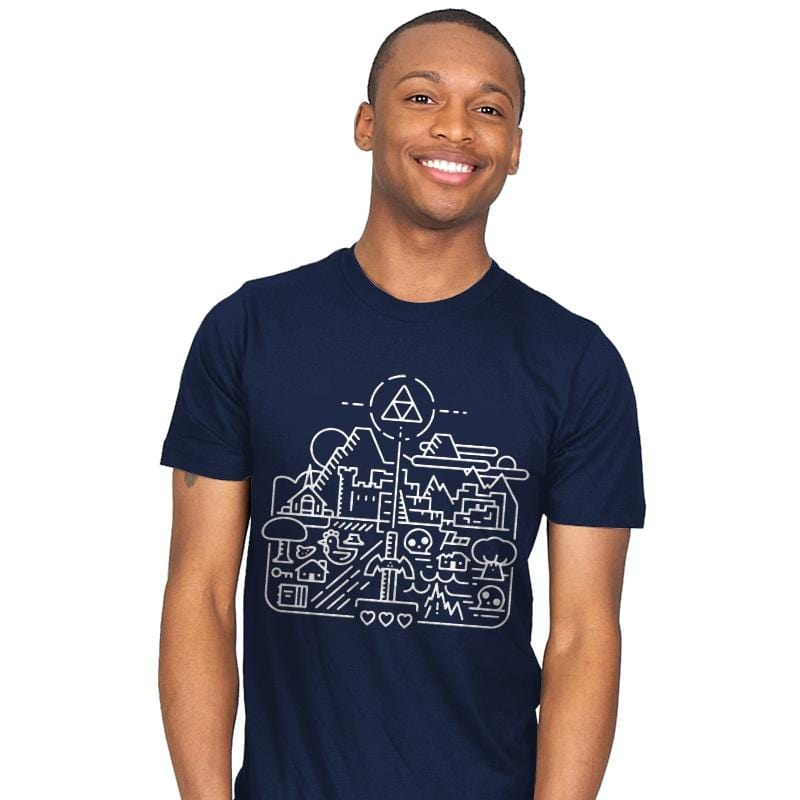 Old Hyrule - Mens - T-Shirts - RIPT Apparel