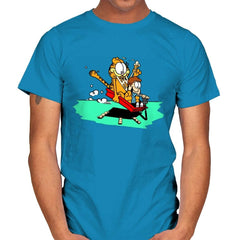 Jon and a Lasagna Lover - Mens - T-Shirts - RIPT Apparel