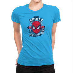 Spidey Photo Studio Exclusive - Womens Premium - T-Shirts - RIPT Apparel