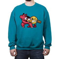 Last Ball - Crew Neck Sweatshirt - Crew Neck Sweatshirt - RIPT Apparel