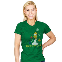 D'oh D'oh D'oh - Womens - T-Shirts - RIPT Apparel
