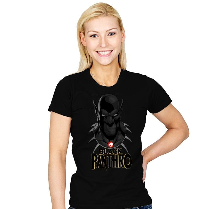 Black Panthro - Womens - T-Shirts - RIPT Apparel