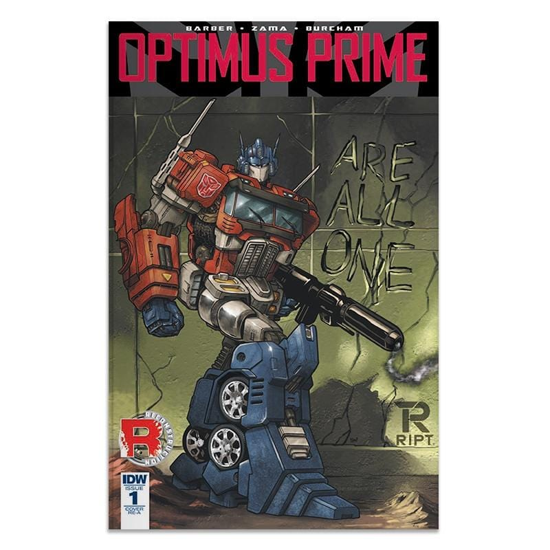 Transformers: Optimus Prime Issue 1 - Comic Book - Comic Book - RIPT Apparel