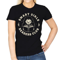 Smart Girls Readers Club - Womens - T-Shirts - RIPT Apparel