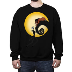Halloween King Betrayal! - Raffitees - Crew Neck Sweatshirt - Crew Neck Sweatshirt - RIPT Apparel