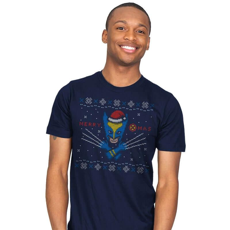 Santa Claws - Mens - T-Shirts - RIPT Apparel