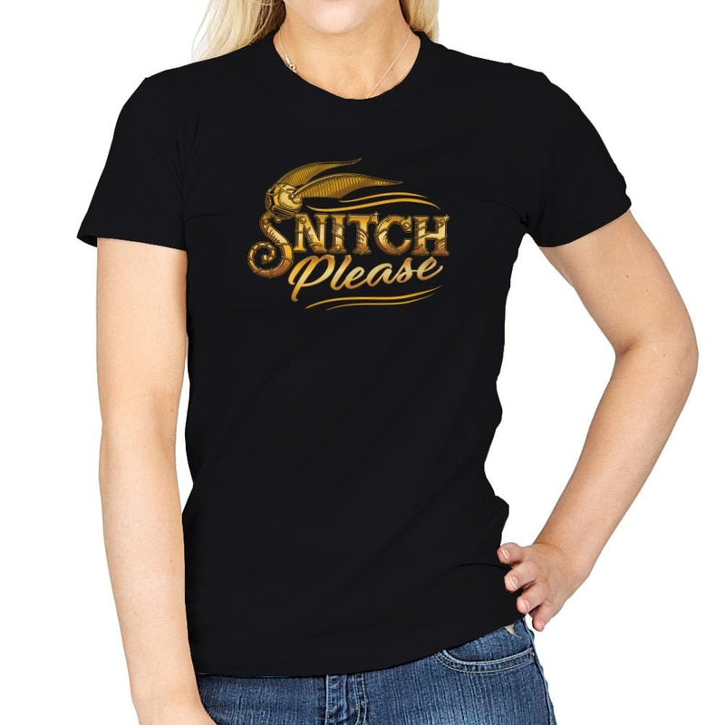 Snitch Please Exclusive - Womens - T-Shirts - RIPT Apparel