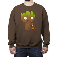 Grootie - Crew Neck Sweatshirt - Crew Neck Sweatshirt - RIPT Apparel