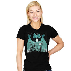 The Dark Lord Rock - Womens - T-Shirts - RIPT Apparel