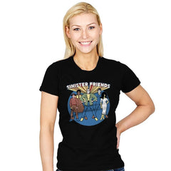Snisiter Friends - Womens - T-Shirts - RIPT Apparel