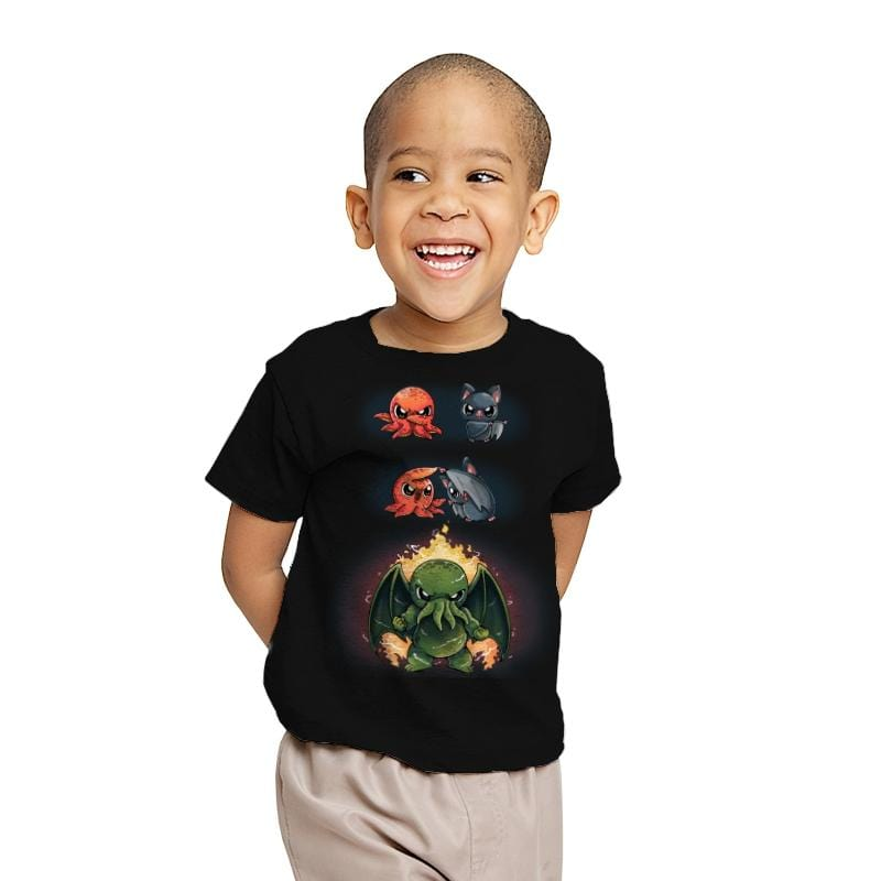Cthulhu Fusion - Youth - T-Shirts - RIPT Apparel