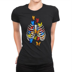 Butterflies In My Stomach - Womens Premium - T-Shirts - RIPT Apparel