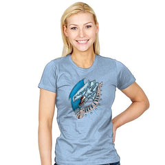 Blue Eyes - Womens - T-Shirts - RIPT Apparel