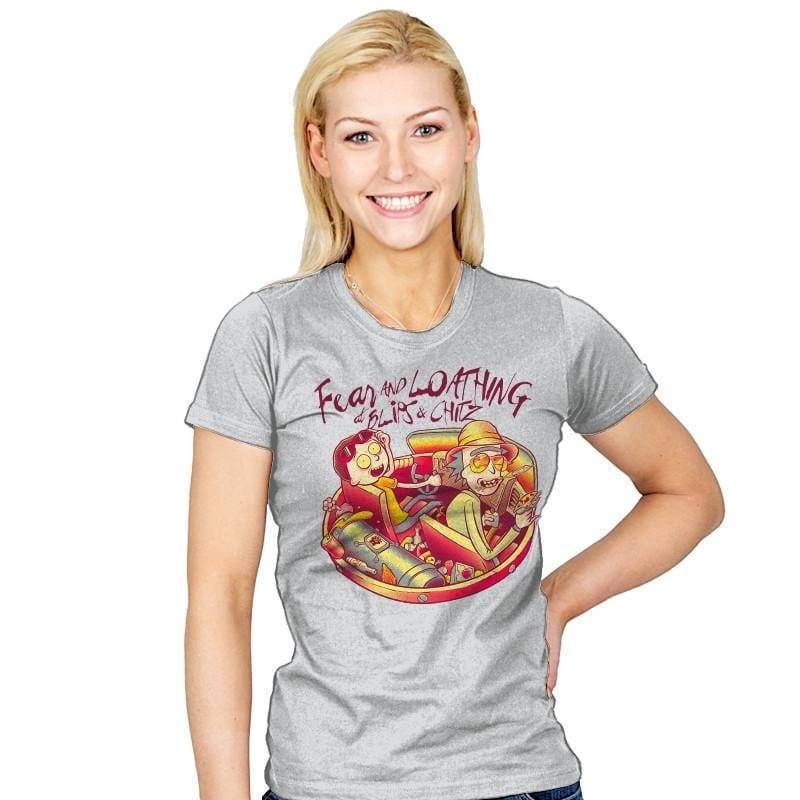 Fear and Loathing at Blips & Chitz - Womens - T-Shirts - RIPT Apparel