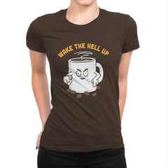 Wake Up Now! - Womens Premium - T-Shirts - RIPT Apparel