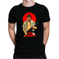 Fat Rambo - Mens Premium - T-Shirts - RIPT Apparel