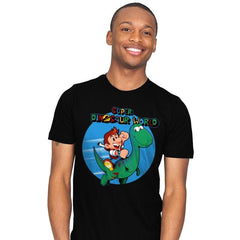 Super Dinosaur World - Mens - T-Shirts - RIPT Apparel