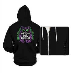 Calavera Cheshire Cat - Hoodies - Hoodies - RIPT Apparel