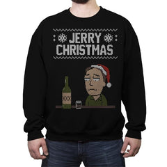 Jerry Christmas! - Crew Neck Sweatshirt - Crew Neck Sweatshirt - RIPT Apparel