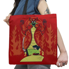 Samurai Princess Exclusive - Tote Bag - Tote Bag - RIPT Apparel