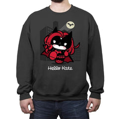 Hello Kate - Crew Neck Sweatshirt - Crew Neck Sweatshirt - RIPT Apparel