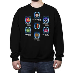 MEGA TITANS - Crew Neck Sweatshirt - Crew Neck Sweatshirt - RIPT Apparel