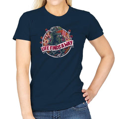 Life Finds A Way Exclusive - Womens - T-Shirts - RIPT Apparel