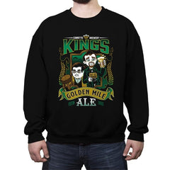 Golden Mile Ale - Crew Neck Sweatshirt - Crew Neck Sweatshirt - RIPT Apparel
