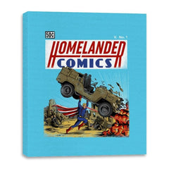 Laser Eyes Comics - Canvas Wraps - Canvas Wraps - RIPT Apparel