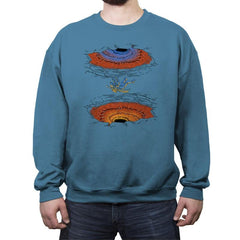 Portals Everywhere - Crew Neck Sweatshirt - Crew Neck Sweatshirt - RIPT Apparel