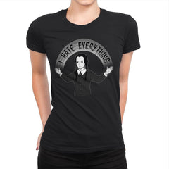 As long as we Hate Everything - Womens Premium - T-Shirts - RIPT Apparel