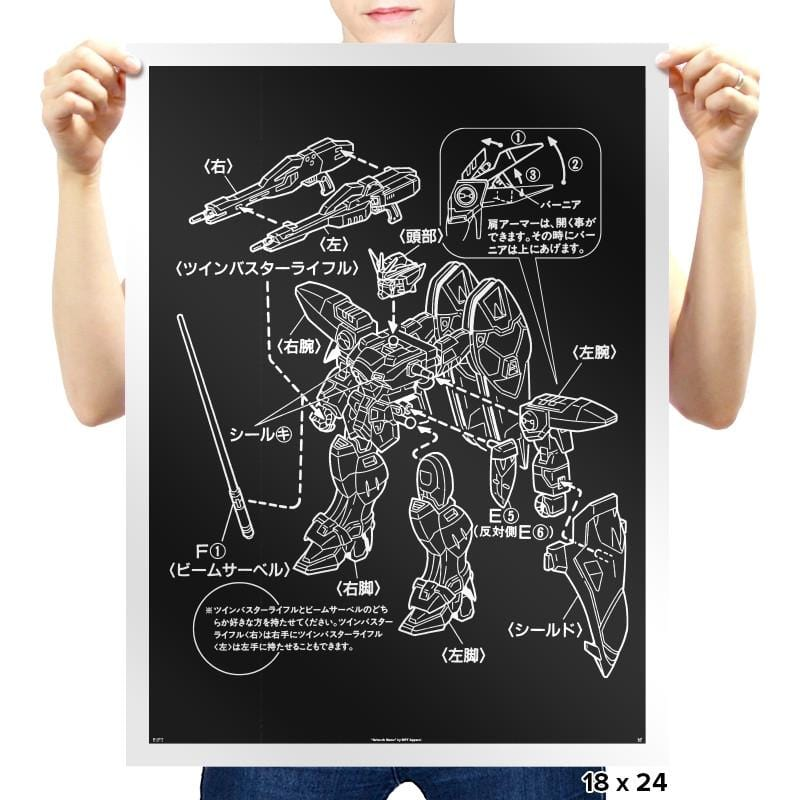 Modeling Skills Helpful Exclusive - Anime History Lesson - Prints - Posters - RIPT Apparel