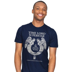 Time Lord Superstar - Record Collector - Mens - T-Shirts - RIPT Apparel