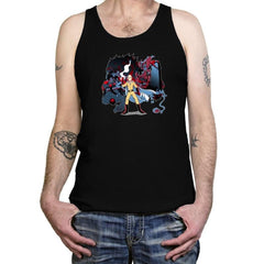 Who Would Win Exclusive - Anime History Lesson - Tanktop - Tanktop - RIPT Apparel