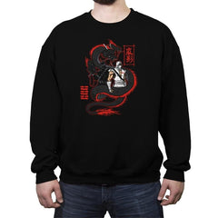 Arashikage Clan - Crew Neck Sweatshirt - Crew Neck Sweatshirt - RIPT Apparel