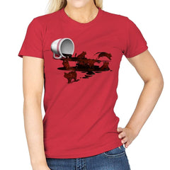 Coffee Cat - Womens - T-Shirts - RIPT Apparel