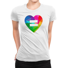 Equality - Pride - Womens Premium - T-Shirts - RIPT Apparel