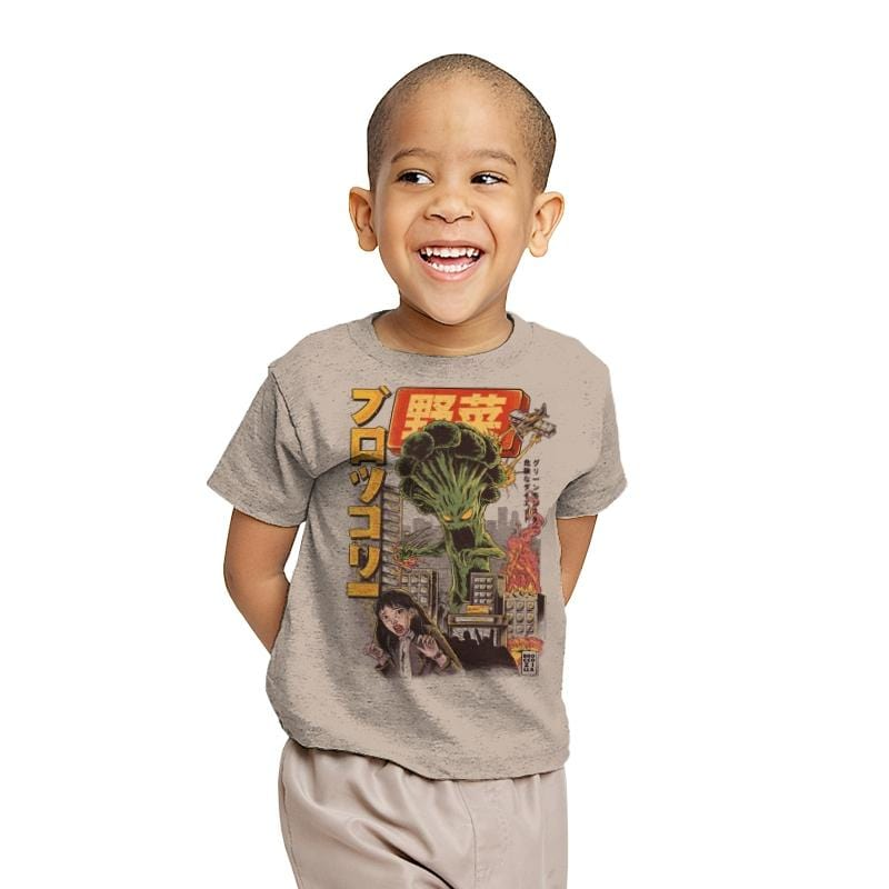 Broccozilla - Youth - T-Shirts - RIPT Apparel